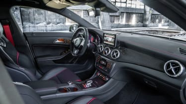 Mercedes CLA45 AMG interior dashboard