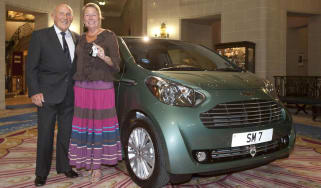 Stirling Moss gets an Aston Martin Cygnet