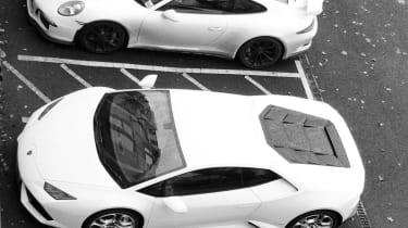 Aventador and 911