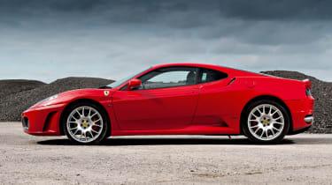 Ferrari F430 side profile, Rosso Corsa