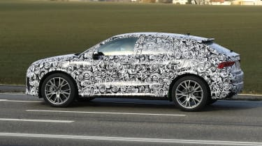 Audi RS Q3 Sportback spy - side
