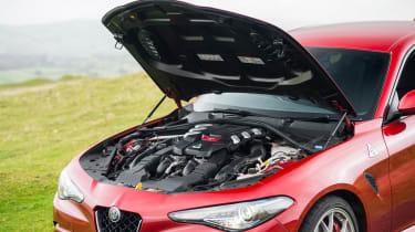 eCoty Alfa Romeo Giulia QV - engine bay