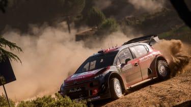 WRC Rally Sardinia - citroen c3