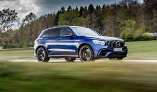 Mercedes-AMG GLC 63 S - side
