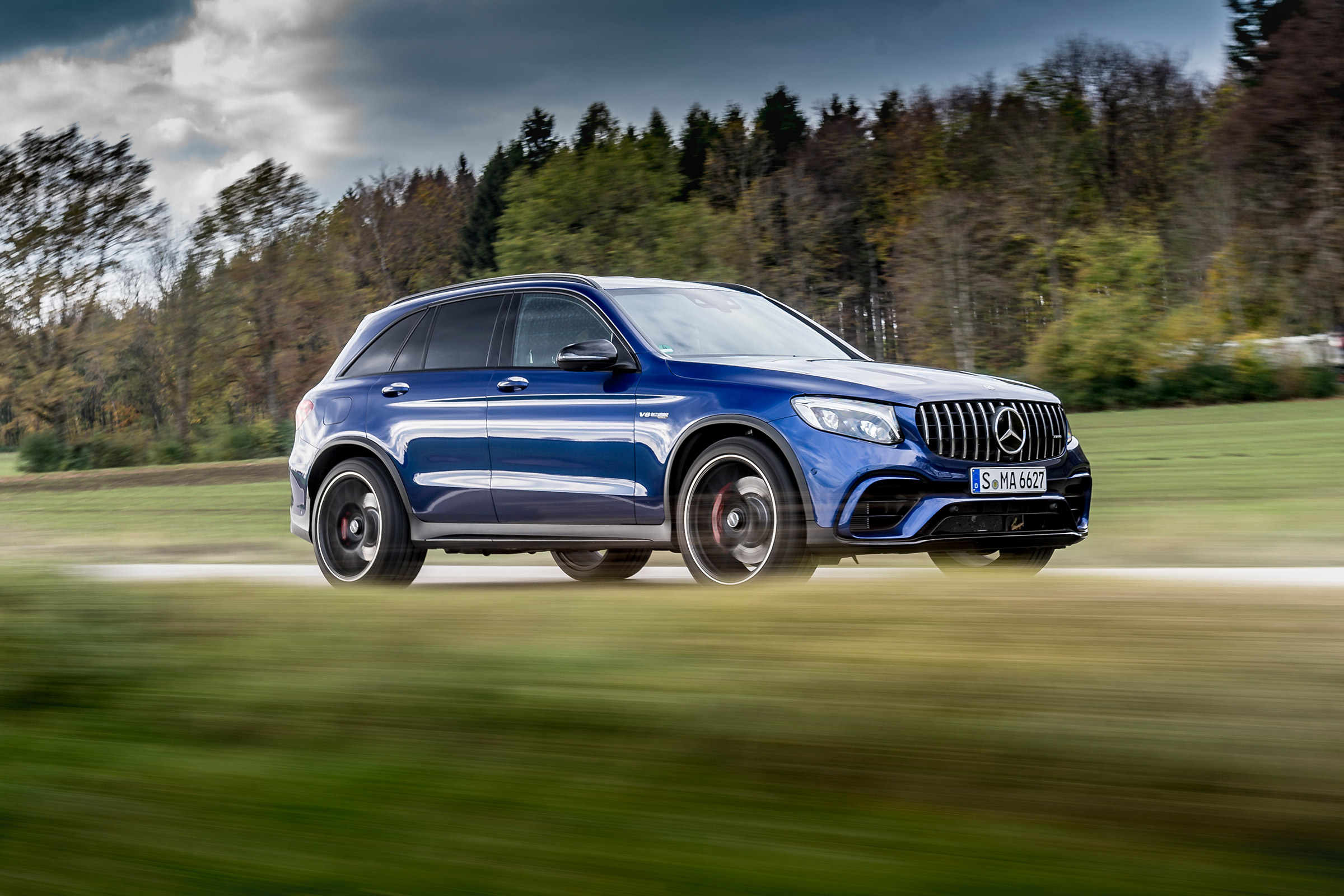 Mercedes-AMG GLC 63 S review - better than a Macan Turbo?   Evo