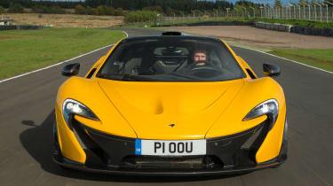 McLaren P1 yellow DS - tracking