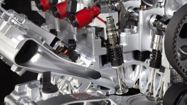 Alfa Romeo Mito MultiAir engine cutaway