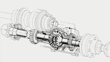 Audi Quattro - diff