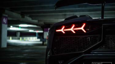 Novitec Lamborghini Aventador SV - taillight detail