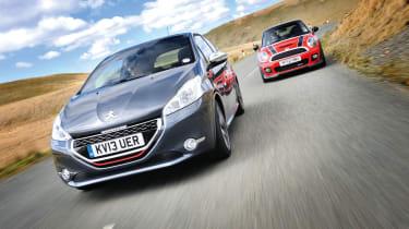 Peugeot 208 GTI vs Mini Cooper S JCW