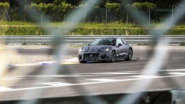 2021 Maserati GranTurismo spy – track