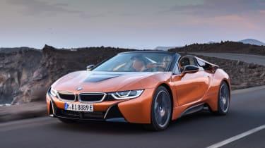 BMW i8 Roadster - front quarter