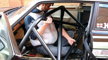 Roll cage install