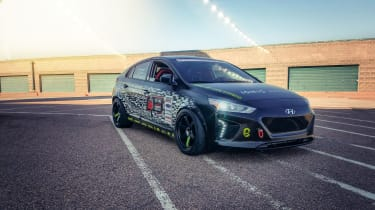 Modified Hyundai Ioniq Electric for SEMA 2018