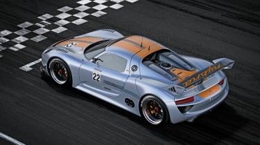 Porsche 918 RSR hybrid