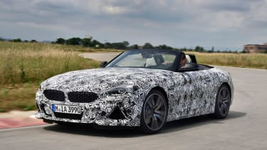 New 2019 BMW Z4 – front quarter