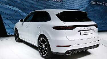 Porsche Cayenne Turbo - Frankfurt motor show