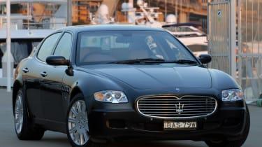 Maserati Quattroporte - fornt