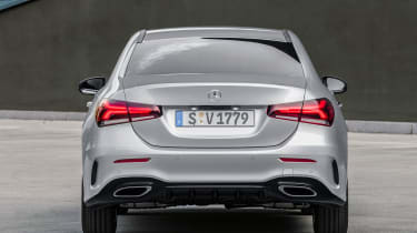 Mercedes-Benz A-class saloon – rear quarter