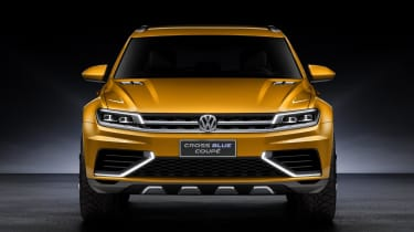 VW CrossBlue front end