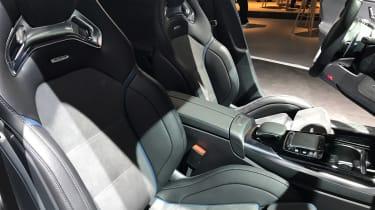 Mercedes-AMG A35 live - seats