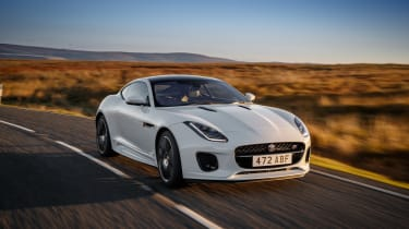 Jaguar F-Type Chequered Flag edition - front