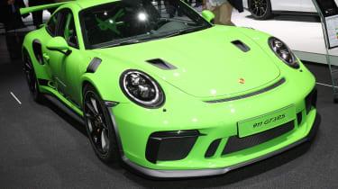 Porsche 911 GT3 RS – front quarter