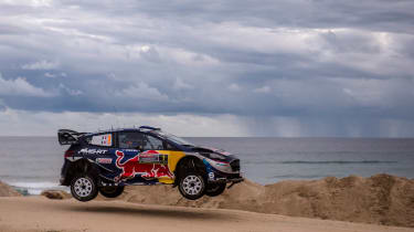 WRC Rally Australia - jump