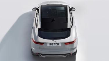 Jaguar E-Pace - white static tail