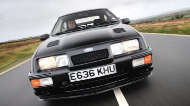 Ford Sierra Cosworth RS500 in evo Magazine: December 2013