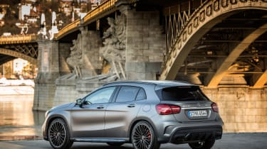 2017 Mercedes-AMG GLA45 - Rear