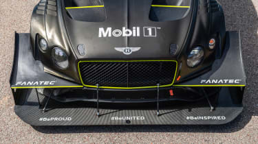 Bentley Continental GT3 Pikes Peak – on loc nose