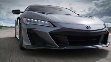 Acura NSX Type S – bumper