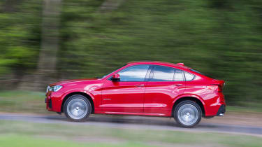 BMW X4 xDrive30d - Side