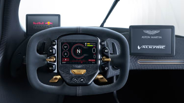 Aston Martin Valkyrie - steering wheel
