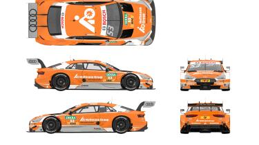2017 Audi RS5 DTM – Team Rosberg, Jamie Green