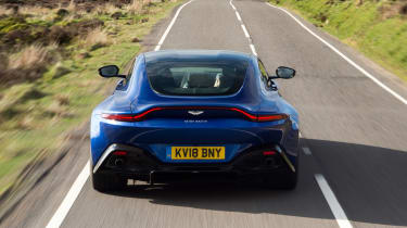 Aston Martin Vantage UK - rear