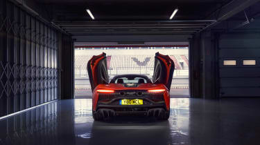 McLaren Artura revealed - orange rear static