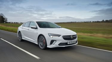 Vauxhall Insignia GSi – front tracking