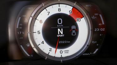 Lexus LFA rev counter