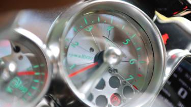 New Pagani Huayra dial clock speedo