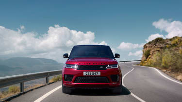 Range Rover Sport - on road front