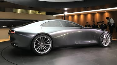 Mazda Vision Concept Coupe - live - rear quarter