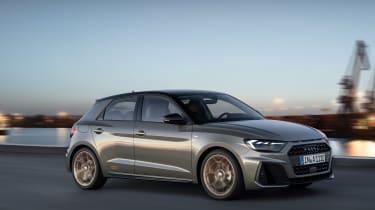 Audi A1 2018 revealed - front quarter