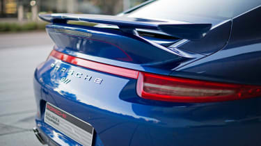 Porsche 911 5M Fans Facebook edition twin spoilers wing ducktail