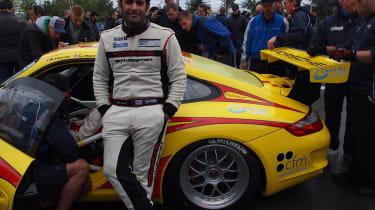 N24 Chris Harris and Porsche 911 GT3