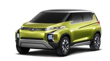 Mitsubishi AR PHEV concept front