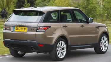 Range Rover Sport rear 3/4 static