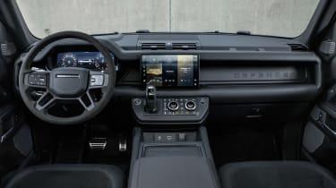 Land Rover Defender V8 MY22 - interior