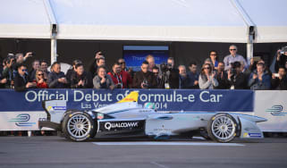 Formula E - The final test session